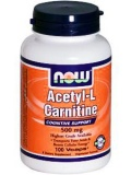 NOW Acetyl L-Carnitine 500mg (100 капс)