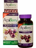 Natrol AcaiBerry Extra Strength 1200 mg (60 капс)