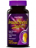 Natrol BrainSpeed Memory (60 табл)
