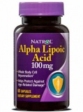 Natrol Alpha Lipoic Acid 100 mg (60 капс)