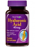Natrol Hyaluronic Acid 40 мг (30 капс)